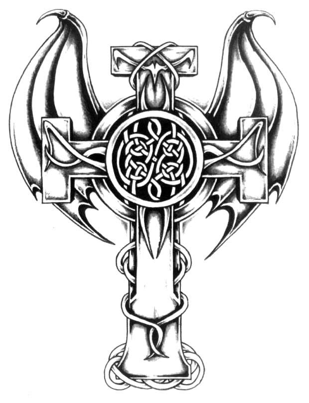 tattoo croix
